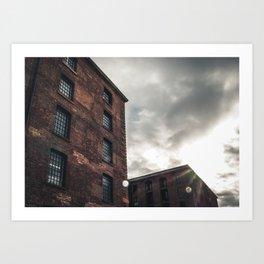 Industrial Avenue Art Print