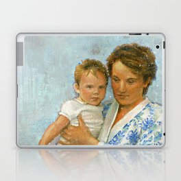 mother and child 2 Laptop & iPad Skin