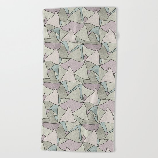 Abstract pattern. Beach Towel