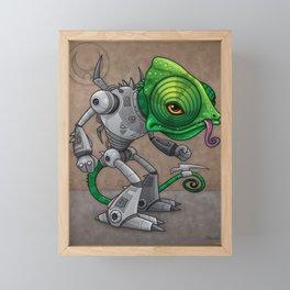 Chameleozoid Framed Mini Art Print