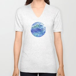 Atlantic Waves Unisex V-Neck