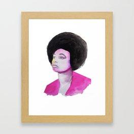 Angela Framed Art Print