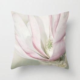 Magnolia stellata Throw Pillow
