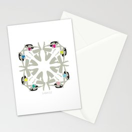 Weekend Girls Repeat Illustration Stationery Cards