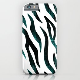 Here Kitty Kitty - Teal iPhone Case