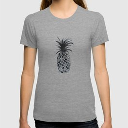 Black and White Pineapple T-shirt