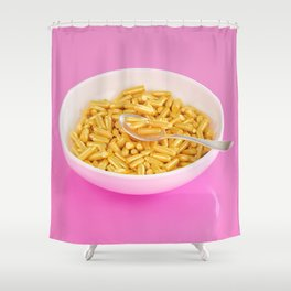 Dangerous Breakfast Shower Curtain