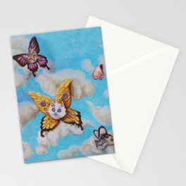 Cat Fairies by Nefertara Stationery Cards