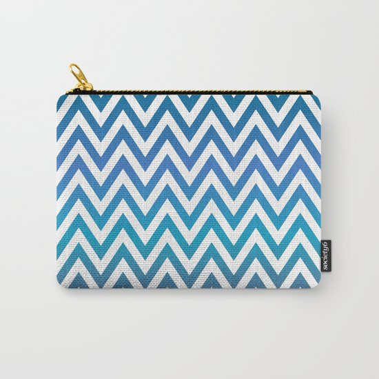 Chevron Carry-All Pouch