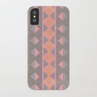 montana iPhone & iPod Cases featuring Montana Weave by The Velvet Owl Design Studio