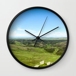 Kinder Scout. Wall Clock