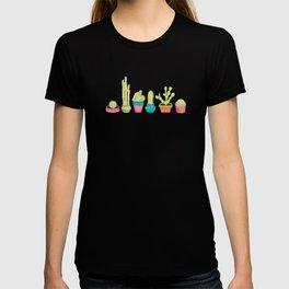Cacti Family Portrait T-shirt