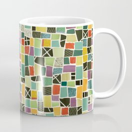Square On Mosaic Coffee Mug