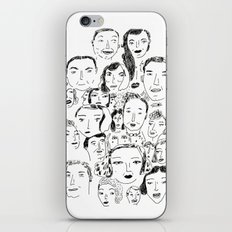 Face Group iPhone & iPod Skin