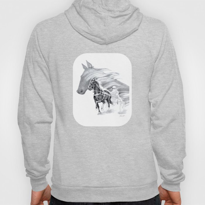 Trotting Up A Storm Hoody