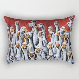 Gaggle of Geese Rectangular Pillow