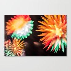 Fireworks - Philippines 6 Canvas Print