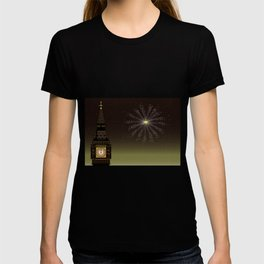 Big Ben And New Year T-shirt