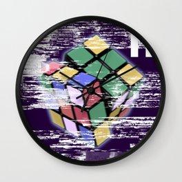 Paused Wall Clock