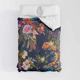 FLORAL AND BIRDS XII Comforters
