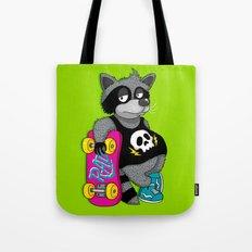 Really Radical Raccoon Tote Bag