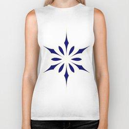 Elegant Star or Snowflake Biker Tank