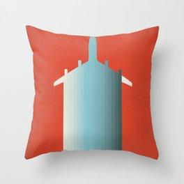 BLU PLN Throw Pillow