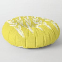 Eternity in Gold Leaf Floor Pillow