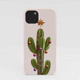 CHRISTMAS CACTUS iPhone Case