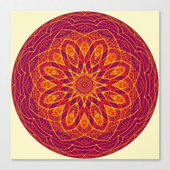 Kaleidoscope Sphere Canvas Print