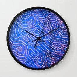 Meandering Wall Clock