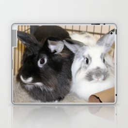 Twin Rabbits Laptop & iPad Skin