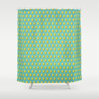 gamer Shower Curtains featuring Gamer Cred by Jango Snow
