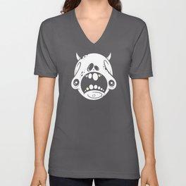 Petrified Skull Unisex V-Neck