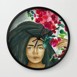Garden of Eden Wall Clock