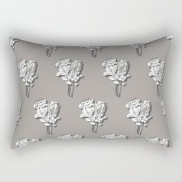 Fanciful Garden - Bouquet Rectangular Pillow