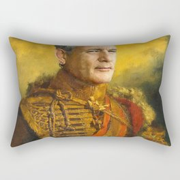 Bill Murray, Comedian, Classical Painting Portrait, Regal art, General, Actor Rectangular Pillow