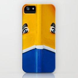 Maltese Boat - Luzzu Colours  iPhone Case
