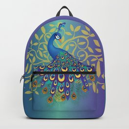 Peacock In A Tree Backpack