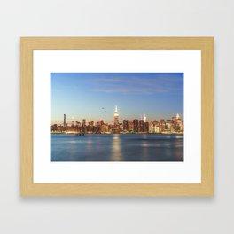 New York City Blues Framed Art Print