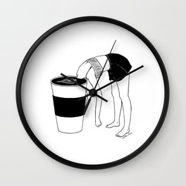 Coffee, First Wall Clock