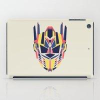 optimus prime iPad Cases featuring Prime by Fimbis