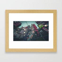 Yard in Inner Town Framed Art Print