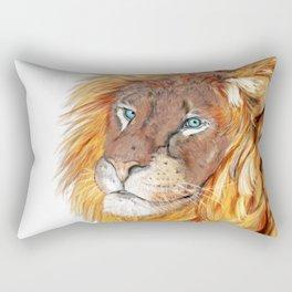 Colourful Lion Rectangular Pillow