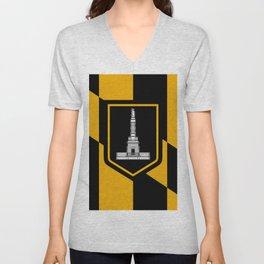 flag of Baltimore Unisex V-Neck