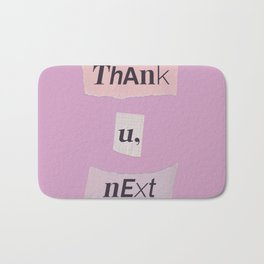 thank you next - Ariana - pink 2 Bath Mat