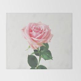 Spring Rose Throw Blanket
