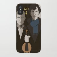 british iPhone & iPod Cases featuring British Gothic by Danny Haas
