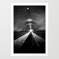 Tunnel Vision Art Print