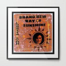 New Ray Of Sunshine Metal Print